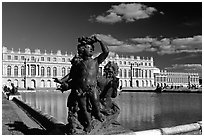 Versailles Palace. France ( black and white)
