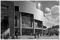 Opera Bastille. Paris, France ( black and white)