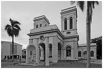 Cathedral of the Assumption. George Town, Penang, Malaysia ( black and white)