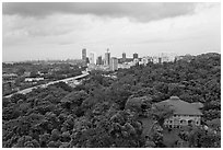 Mount Faber Park. Singapore ( black and white)