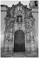 Church of San Diego. Guanajuato, Mexico (black and white)