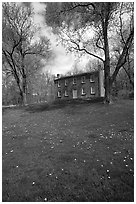 Frazee house. Cuyahoga Valley National Park ( black and white)