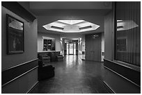 Inside Mammoth Cave Hotel. Mammoth Cave National Park ( black and white)