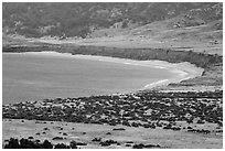 Bechers Bay, Santa Rosa Island. Channel Islands National Park ( black and white)