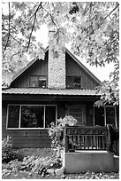 Stehekin Pastry Company, Stehekin, North Cascades National Park Service Complex.  ( black and white)