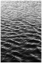 Reflections in moat. Dry Tortugas National Park ( black and white)