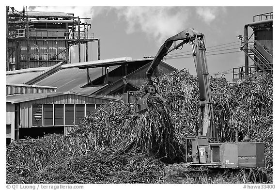 Sugar cane mill. Kauai island, Hawaii, USA