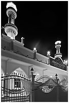 Al-Islah mosque, Ko Phi-Phi Don. Krabi Province, Thailand ( black and white)