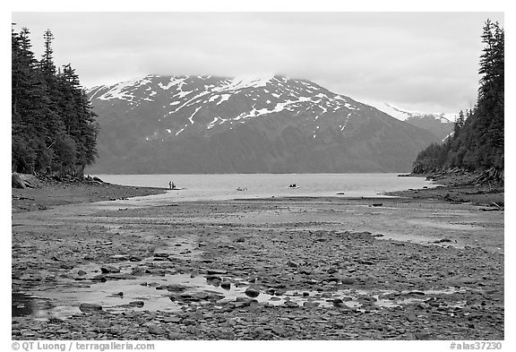 Cove and Passage Canal Fjord. Whittier, Alaska, USA