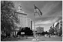 City Hall. Oakland, California, USA ( black and white)