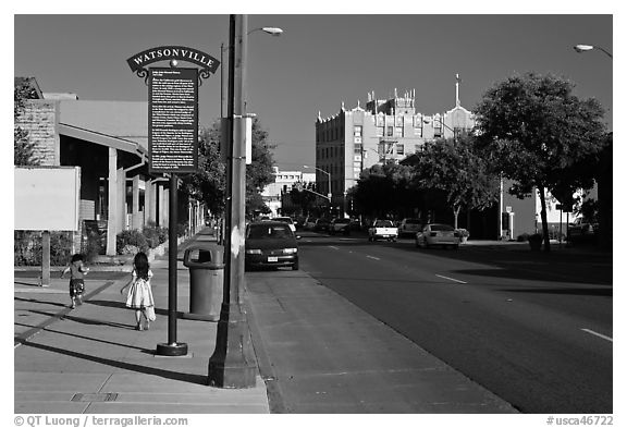 Downtown. Watsonville, California, USA
