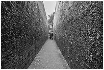 Bubblegum Alley. California, USA ( black and white)