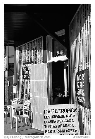 Mexican Cafe. Redwood City,  California, USA