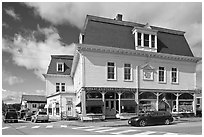 Stores, Greenville. Maine, USA ( black and white)