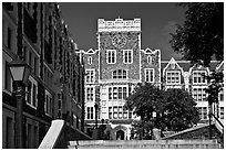City College, CUNY. NYC, New York, USA ( black and white)
