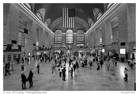 Main Concourse, Grand Central Terminal. NYC, New York, USA