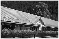 General Store, Newhalem. Washington ( black and white)