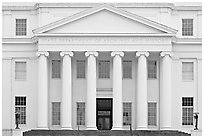 State department of archives and history. Montgomery, Alabama, USA ( black and white)