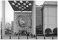 World of Coca-Cola (R). Atlanta, Georgia, USA (black and white)