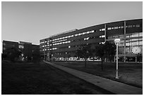 University of Colorado. Denver, Colorado, USA ( black and white)