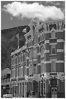 Strater Hotel, Durango. Colorado, USA ( black and white)