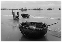 Pictures of Coracle Boats