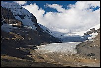 Athabasca Glacier, early morning. Jasper National Park, Canadian Rockies, Alberta, Canada ( color)