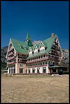 Prince of Wales hotel. Waterton Lakes National Park, Alberta, Canada ( color)