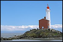Oldest lightouse on the Canadian West Coast. Victoria, British Columbia, Canada (color)