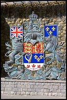 Shield of Canada. Victoria, British Columbia, Canada (color)