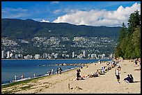 Beach, Stanley Park. Vancouver, British Columbia, Canada