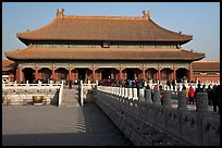 Palace of Heavenly Purity, Forbidden City. Beijing, China ( color)