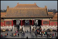 Heavenly Purity Gate, Forbidden City. Beijing, China ( color)