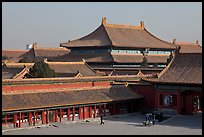 Hall of bronzes, imperial palace, Forbidden City. Beijing, China (color)