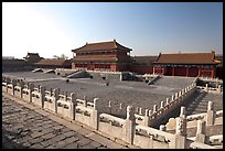 Hongyi Pavilion and inner court, Forbidden City. Beijing, China ( color)
