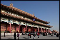 Hall of Supreme Harmony, Forbidden City. Beijing, China ( color)