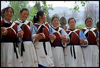 Naxi women. Baisha, Yunnan, China ( color)