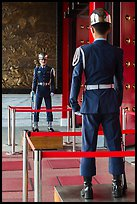 Honor Guards, Martyrs Shrine. Taipei, Taiwan ( color)