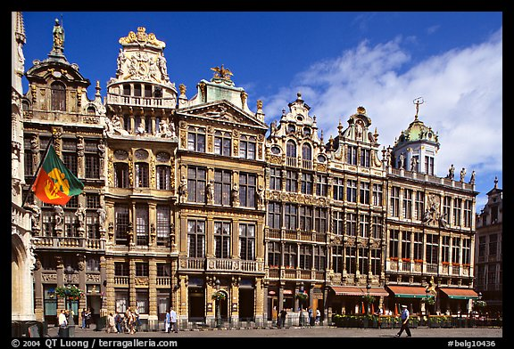 Guildhalls, Grand Place. Brussels, Belgium