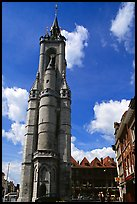 Beffroi, the oldest in the country. Tournai, Belgium ( color)