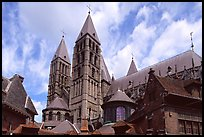 Notre Dame Cathedral. Tournai, Belgium ( color)