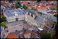 The Burg. Bruges, Belgium (color)
