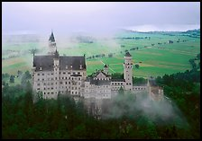 Neuschwanstein. Bavaria, Germany (color)