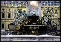 Fountain in front of the Residenz. Wurzburg, Bavaria, Germany ( color)