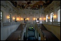 Main staircase in the Residenz. Wurzburg, Bavaria, Germany ( color)