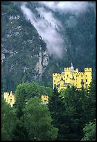Hohenschwangau, built in 1832 for Maximillien II, King Ludwig's father. Bavaria, Germany ( color)