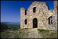 Ruins of the 16th century castle Brahehus near Granna. Gotaland, Sweden (color)