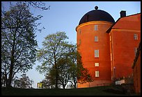 Uppsala castle. Uppland, Sweden (color)