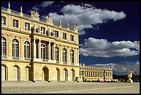 Versailles Palace facade in classical style. France ( color)