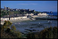Cancale at low tide. Brittany, France ( color)